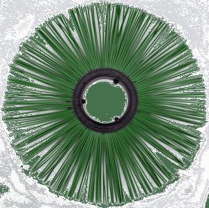Disk shhetochnyj polipropilenovyj 120h550mm besprostavochnyj - Диск щеточный полипропиленовый 120х550 мм беспроставочный