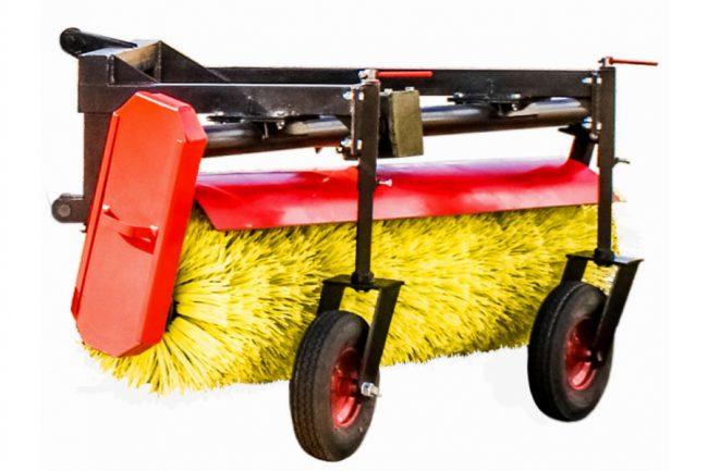 Как выбрать коммунальную щетку к трактору